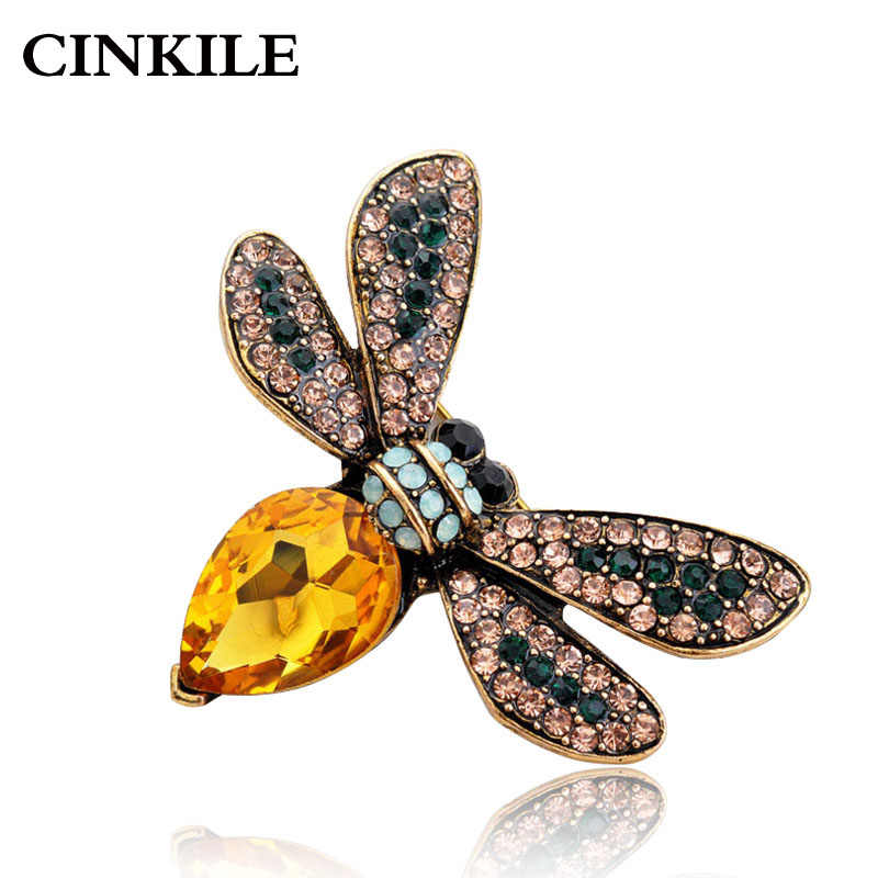 d117cb3c7762e Detail Feedback Questions about CINKILE Multi color Rhinestone Bee ...