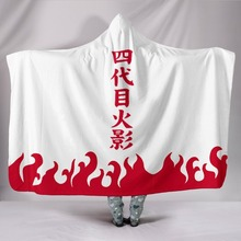 Naruto Hooded Wearable Blankets (4 Models)