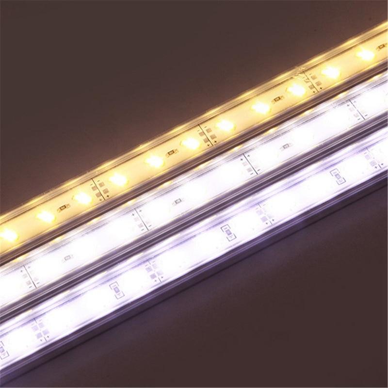 50cm 9W 1800lm Aluminum Waterproof IP44 SMD 7020 36 LED Bar Light Rigid LED Strip Cabinet Light DC 12V