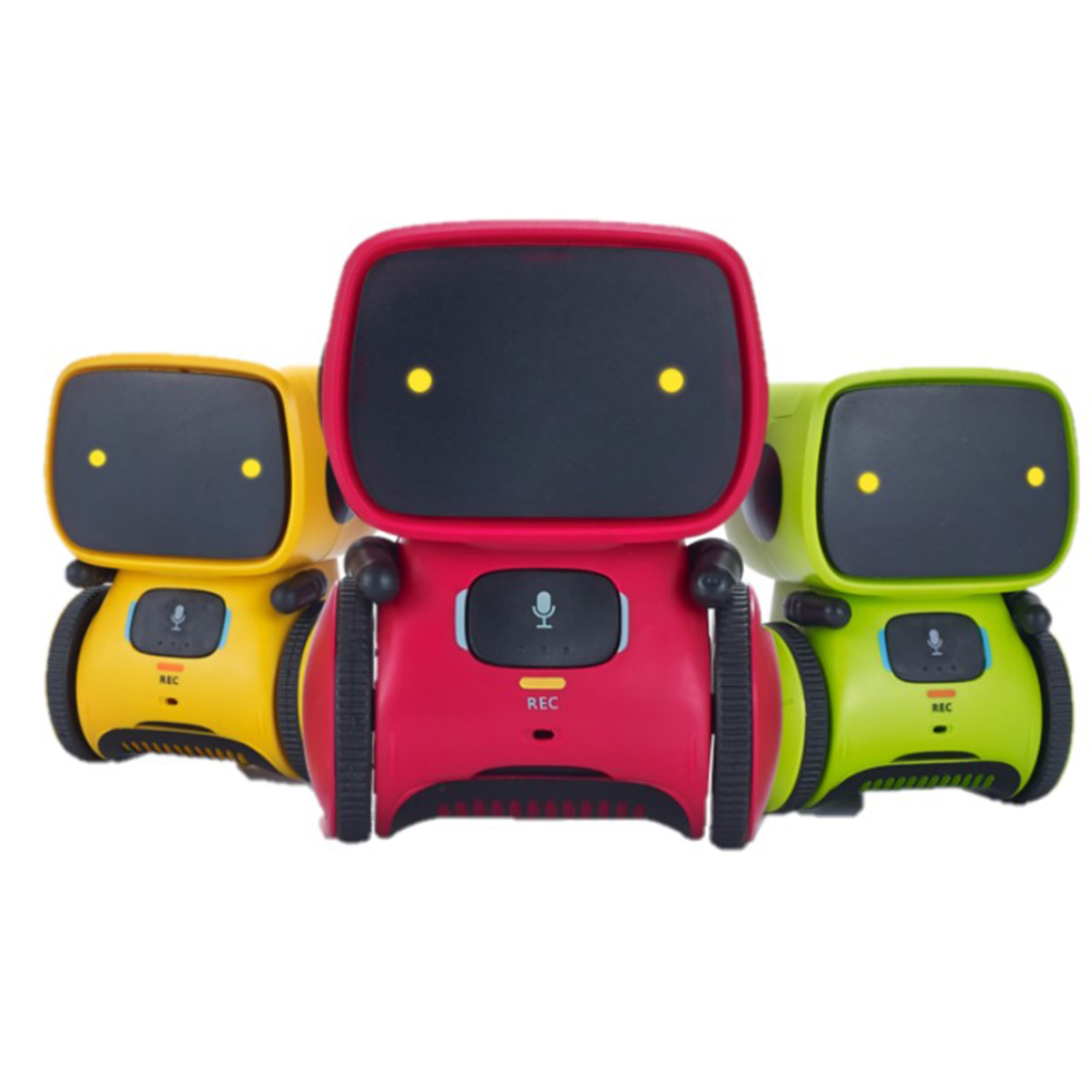 Intelligent Robots for Kids Dance Music Recording Dialogue Touch-Sensitive Control Interactive Toy S