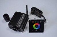 16 W RGBW CONDUZIU a luz do motor com RF remote touch  entrada de AC100-240V