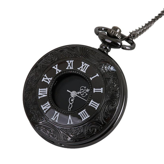 Moment # L05 2018 Fashion Vintage Chain Retro The Greatest Pocket Watch Necklace For Grandpa Dad Gifts