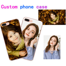 Custom DIY Photo Case Custom Logo name for Huawei Honor 5C 5C Soft TPU Cover Customized Printed For Huawei Honor 5 C Phone Cases(China)