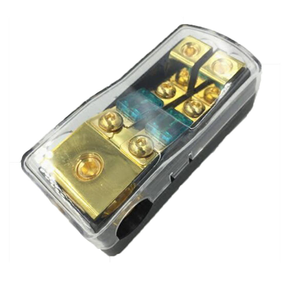 1pc 1 in 2 ways out waterproof car pure copper mini fuse. Black Bedroom Furniture Sets. Home Design Ideas