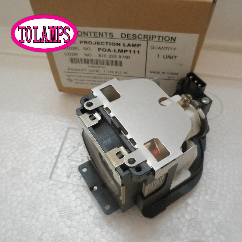 Projector Lamp with housing POA-LMP111 / LMP111 for PLC-WXU30/WXU3ST/WXU700/XU101/XU105/XU106/XU111/XU115/LC-WB40/LC-WB42 original projector lamp bulbs poa lmp111 lmp111 for sanyo plc wxu30 wxu3st wxu700 u101 xu105 xu106 xu111 xu115 nsha275w