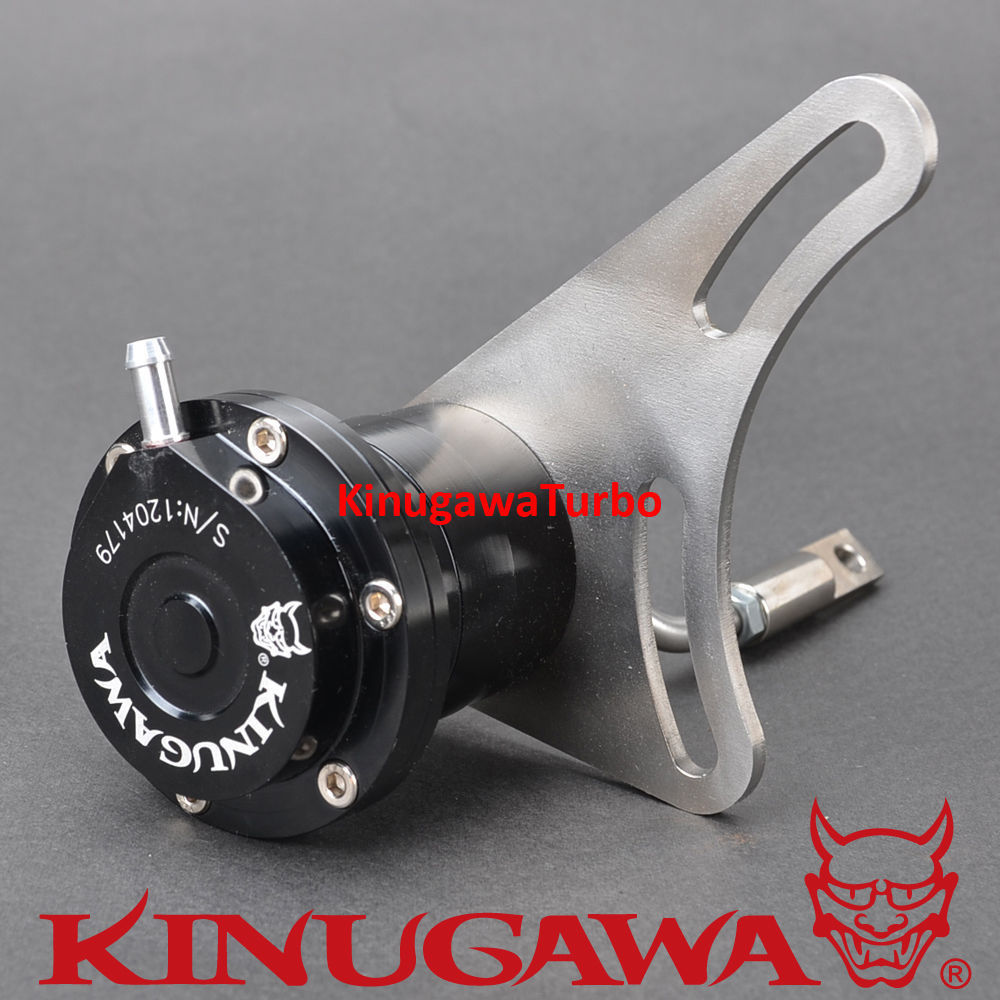 Kinugawa Adjustable Turbo Wastegate Actuator for 3 Cover + 6cm T3 V-band Housing 1.0 bar / 14.7 Psi