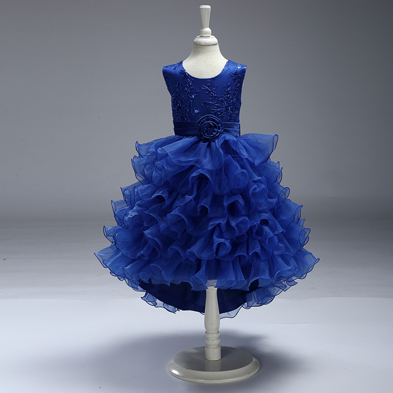 free shipping flower girl dresses for weddings 2018 first communion ...