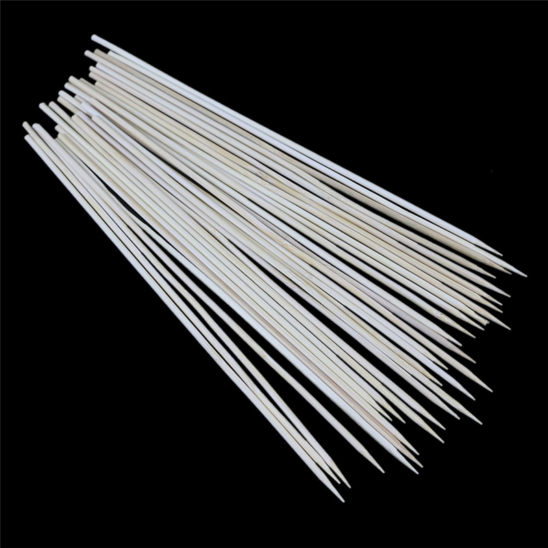 1 PACK BBQ Accessories Bamboo Skewers Grill Shish Kabob Wood Sticks Barbecue BBQ Tools churrasco barbecue grill mats