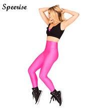 Speerise Womens High Waisted Lycra Pants Spandex Dance Capris Elastic Leggings Pants font b Fitness b