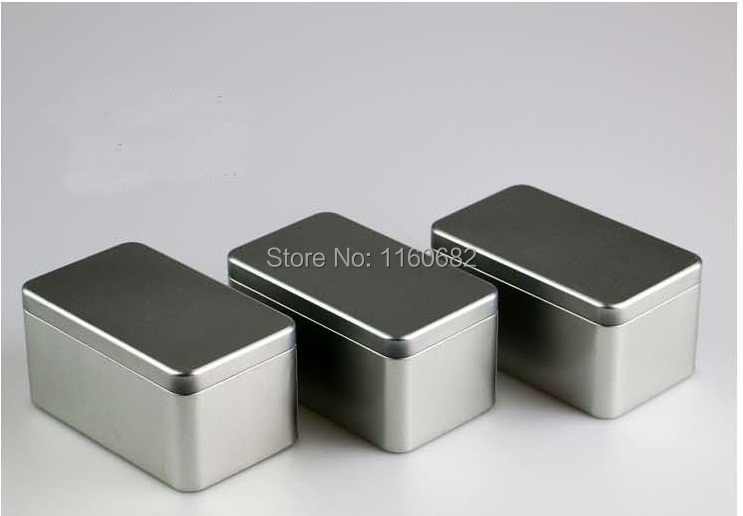 14.5x8.3x7.2cm Lovely Rectangle tin box/tea box or jewelry box without printing