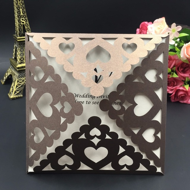 Romantic Lovers Heart Shaped Lace Party Supply Animated Wedding