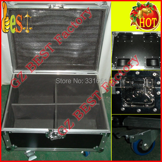 8pcs/Lot With Flight Case par light Fast Shipping American DJ SlimPar Tri 7 9W DMX LED RGB Par 3/7 channels кейс для диджейского оборудования thon dj cd custom case dock