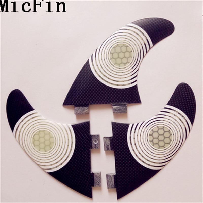FCS G5 Fin Surf fiberglas Honeycomb karbon Fins Quilhas - Su idmanı - Fotoqrafiya 6