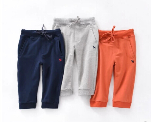 New Hot Autumn Winter cold windproof children warm plus velvet pants girls cotton down trousers fashion boys Thicken down pants