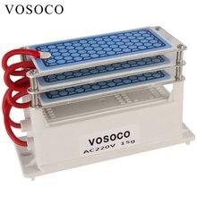 15 Гц/ч, портативный генератор озона, сделай сам, озонатор, очиститель воды, стерилизатор, лечение озона, машина для очистки формальдегида, 220 В