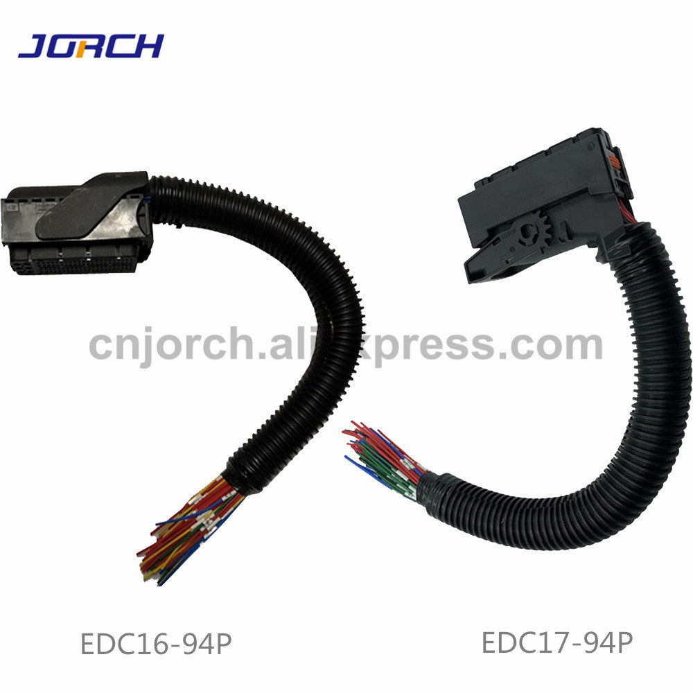 US $42.45 |1 set EDC16 EDC17 Common Rail 94Pin ECU Wiring Harness Connector on