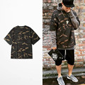 2016 Fake Yeezys Hip Hop Yezzy Mens T-Shirt Military Camouflage Men Short Sleeve O-neck Kanye West T Shirt Yeezy Season  1 2 3