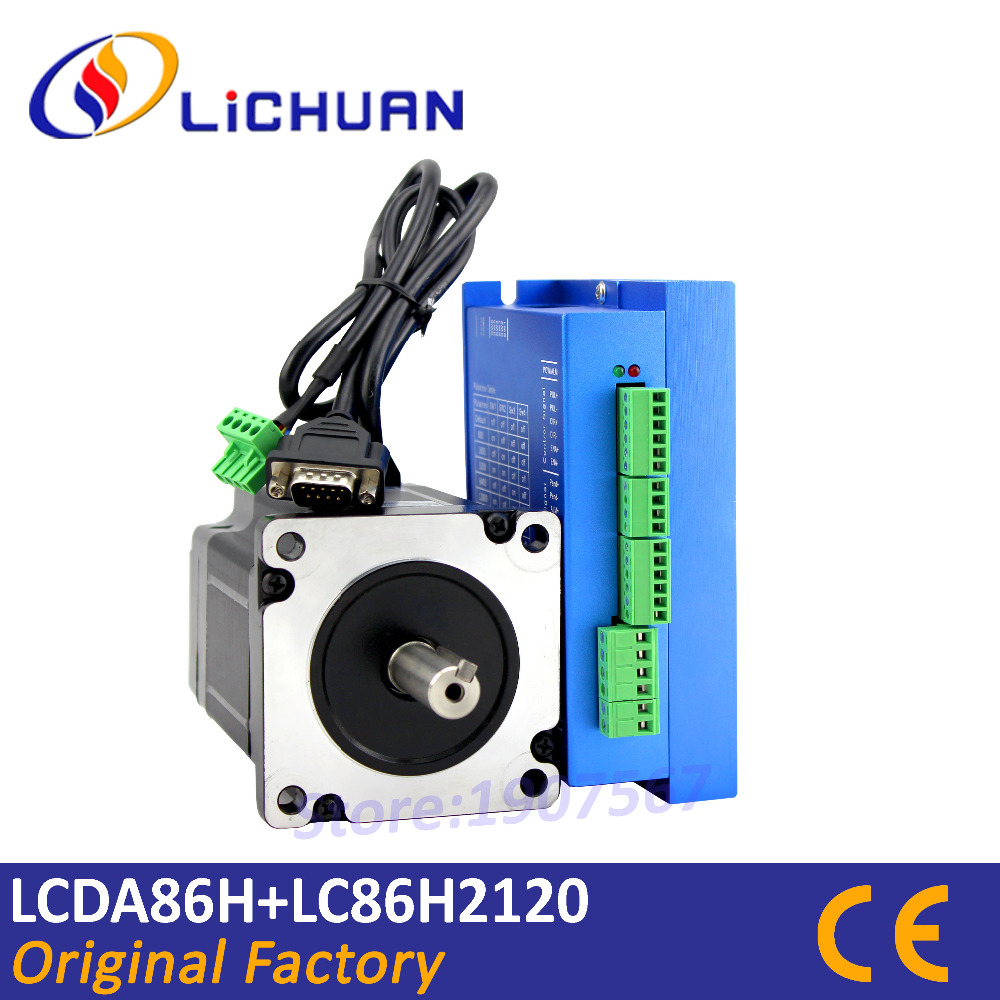 Hot sale closed loop nema 34 stepper motor lcda86h Servo motor sale