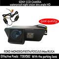 Assistência de estacionamento SONY CCD HD Cor Da Câmera de visão noturna Retrovisor Do Carro de Backup Sem Fio para Ford Mondeo Fiesta Foco S-Max KUGA