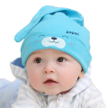 New Children Cute Bear Cap 0-18M Fashion Baby Caps Newborn Warm Cotton Beanies Toddler Kids Girl Boy Hats For Sleeping tyh-50915