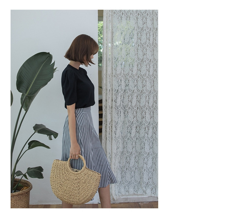 Summer Handmade Straw Bag for Women