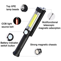 1 Pcs LED Flashlight Torch Emergency Portable For Outdoor Car Repairing Camping M25