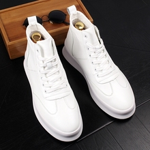 Stephoes 2020 New Luxury Brand Men Fashion High Top Sneakers