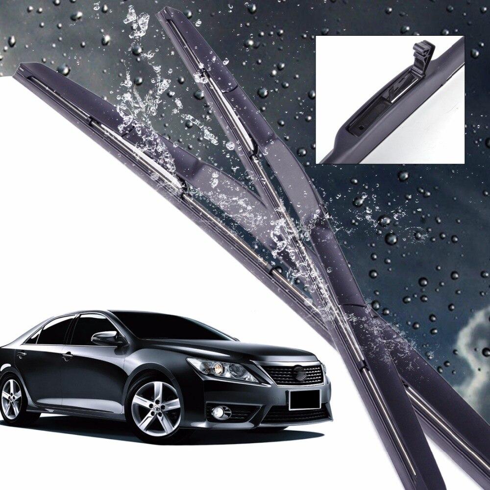 Dwcx new car 24 20 hybrid 3 section rubber rain window windshield wiper