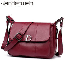 Luxury Handbags Women Bags Designer Leather Handbags Small Bags For Women 2018 Woman Shoulder Crossbody Bags Sac A Main Femme(China)