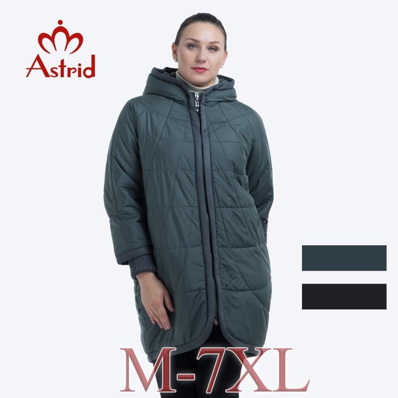 Chaude veste d'hiver femmes parka longue Couture Manteau Plus Taille casaco feminino Femmes Veste bureau Hiver manteau femmes astrid SUIS -2075