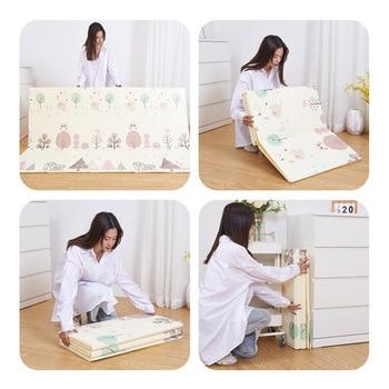 Schaumspielmatten | 200x180x1 Cm Kinder Entwicklung Teppich Teppich Kinder Spielzeug Matten Klapp Krabbeln Entwicklung Matte Wohnzimmer Hause