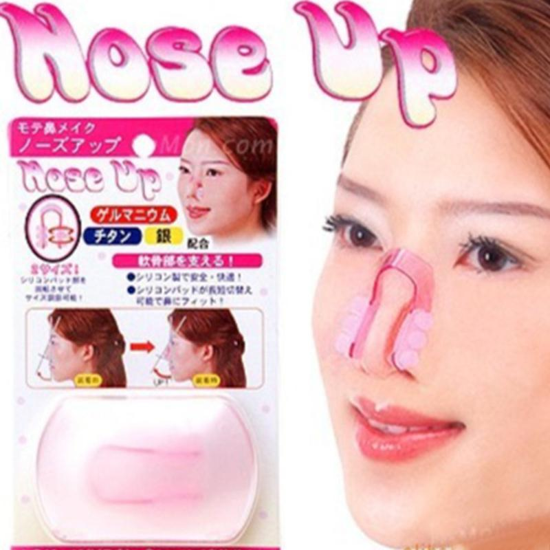 Imagen de Nose Up Shaping Shaper Lifting Bridge Straightening Beauty Nose Clip Massage & Relaxation Make Up Beauty Tools