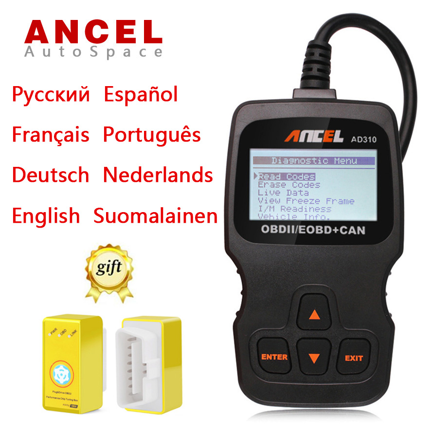 ANCEL AD310 Car OBD 2 Fault Code Reader Scanner Automotive Diagnostic font b Tool b font