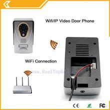 2015 Hot New ip video doorphone Wifi Doorbell Camera Wireless Video Intercom Phone Control IP Door Phone Wireless Door bell
