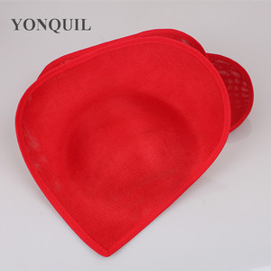 Image 5 - New Colors 30 CM Big Imitation Sinamay Fascinator Bases For Sposa Wedding Millinery Hats DIY Hair Accessories 5Pcs/Lot SYB05