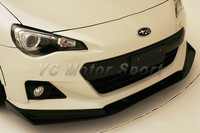 Car Accessories FRP Fiber Glass Zele P Style Front Lip Splitter Fit For 2012 2016 BRZ ZC6 Front Bumper Lip Car Stying|front lip|lip splitterlip car -