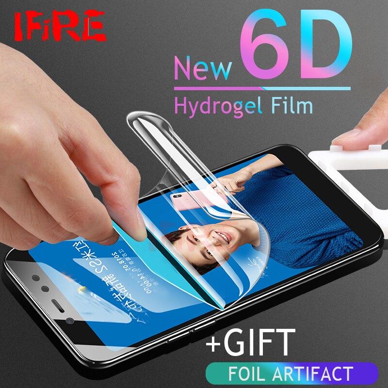 6D מלא כיסוי הידרוג 'ל סרט לxiaomi Redmi 4X הערה 4 4X מסך מגן עבור Xiaomi Redmi 5 בתוספת 5A מגן סרט לא זכוכית
