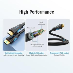 Image 5 - Vention HDMI 2.0 ケーブル HDMI 2.0 HDR 4K @ 60 60hz の HDTV スプリッタスイッチャーラップトップ PS3 プロジェクターコンピュータ 1 メートル 3 メートル 5 メートル 10 メートルのケーブル