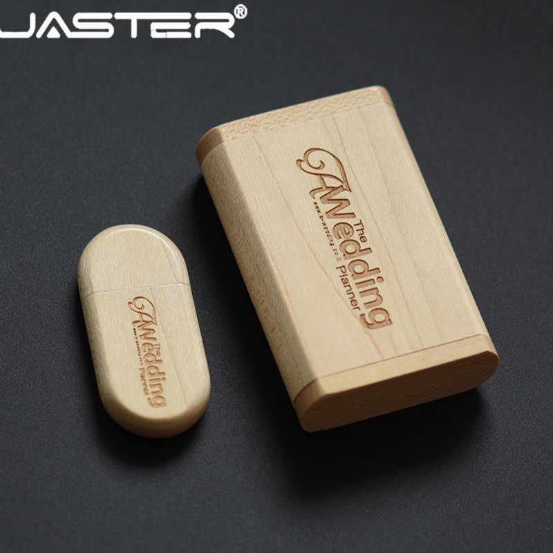 JASTER (ponad 10 sztuk darmowe LOGO) drewniane usb + box pamięć usb pendrive 4gb 8gb 16gb 32gb karta pamięci 64gb fotografia prezenty