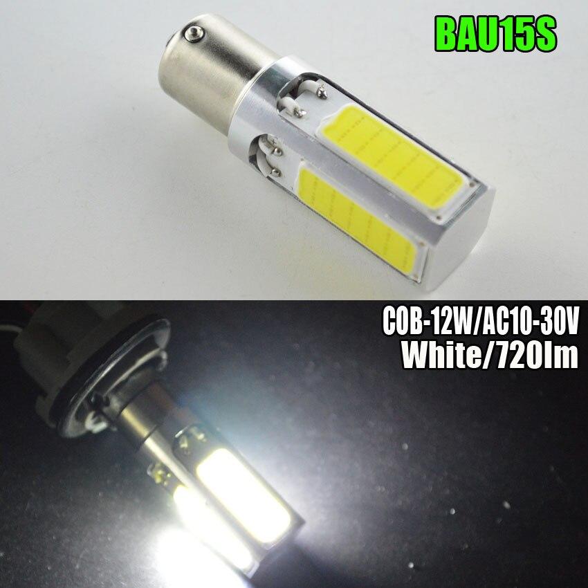 1шт 12w AC10-30В 1156PY BAU15S Сид удара SMD Белый светодиод canbus ОВС нет ошибка py21w светодиодные лампы наружного света автомобиля стайлинг автомобиля Сид