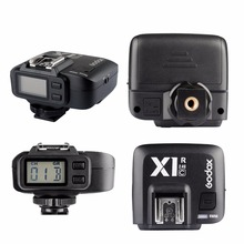 GODOX X1R-C 32 Channels Wireless Remote Flash Receiver TTL 1/8000s Shutter Release for Canon EOS Cameras X1T-C Transmitter
