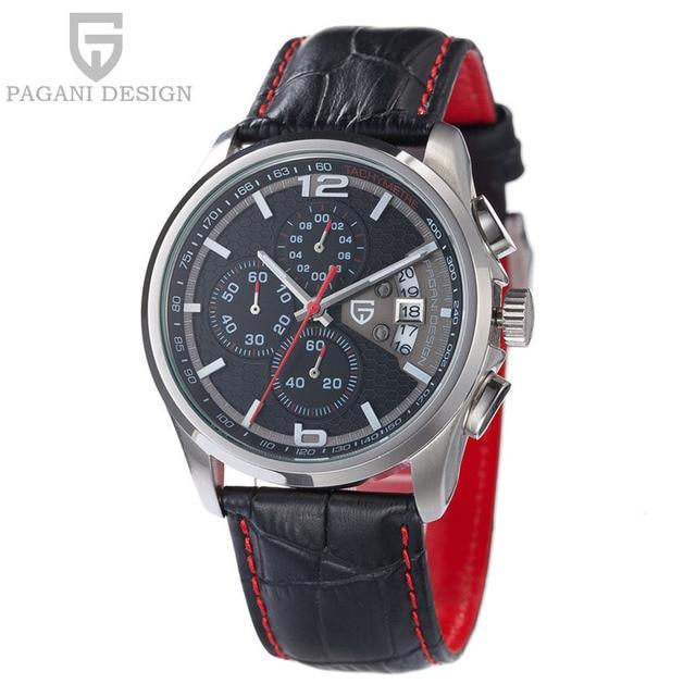 Watches men luxury brand Multifunction Pagani Design quartz men sport wristwatch dive 30m casual watch relogio masculino hot