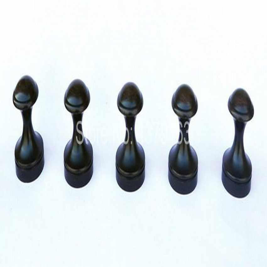 5 sztuk czarny oleju wcierane brąz łazienka wieszak ścienny płaszcz kapelusz wieszak na ręcznik wieszak ścienny do montażu na ścianie łazienki akcesoria aba011b