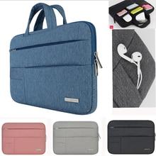 Laptop çantası Dell Asus Lenovo HP bilgisayar çantası bilgisayar 11 12 13 14 15 inç Macbook Air Pro için dizüstü 15.6 kol çantası