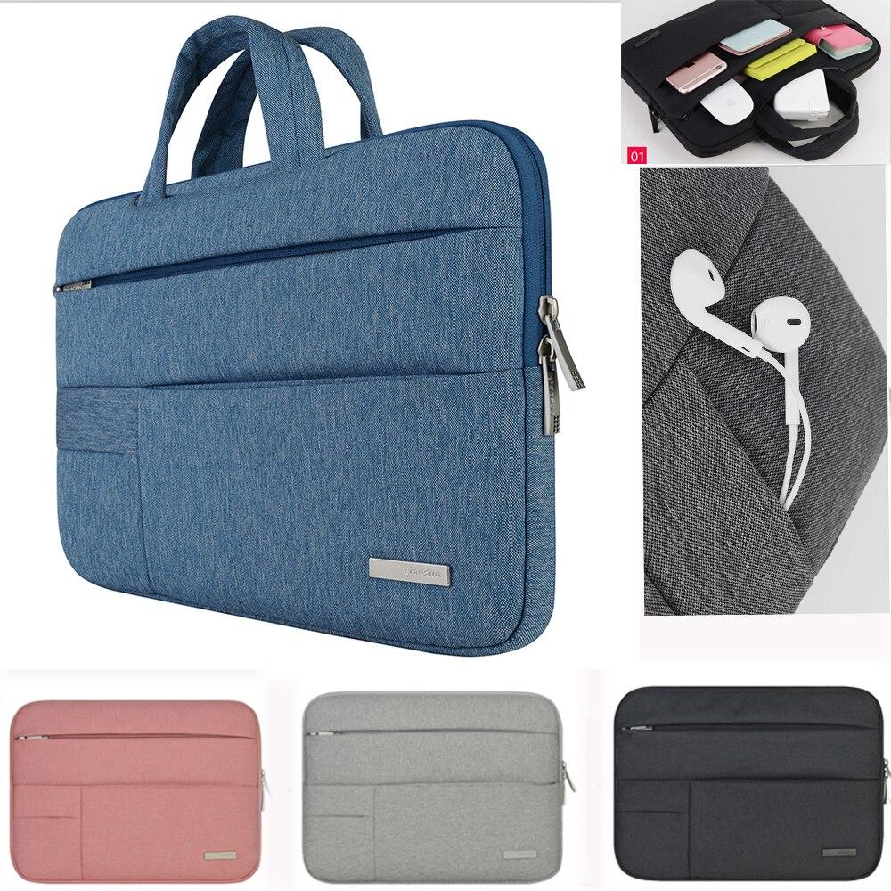 Laptop tasche für Dell Asus Lenovo HP Acer Handtasche Computer 11 12 13 14 15 zoll für Macbook Air Pro Notebook 15,6 Hülle