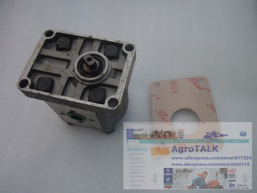 Taishan (Wuzheng) tractor 25-35hp, the CBN-E310 gear pump, Right rotation, short shaft, with flange, NO end oil outlet