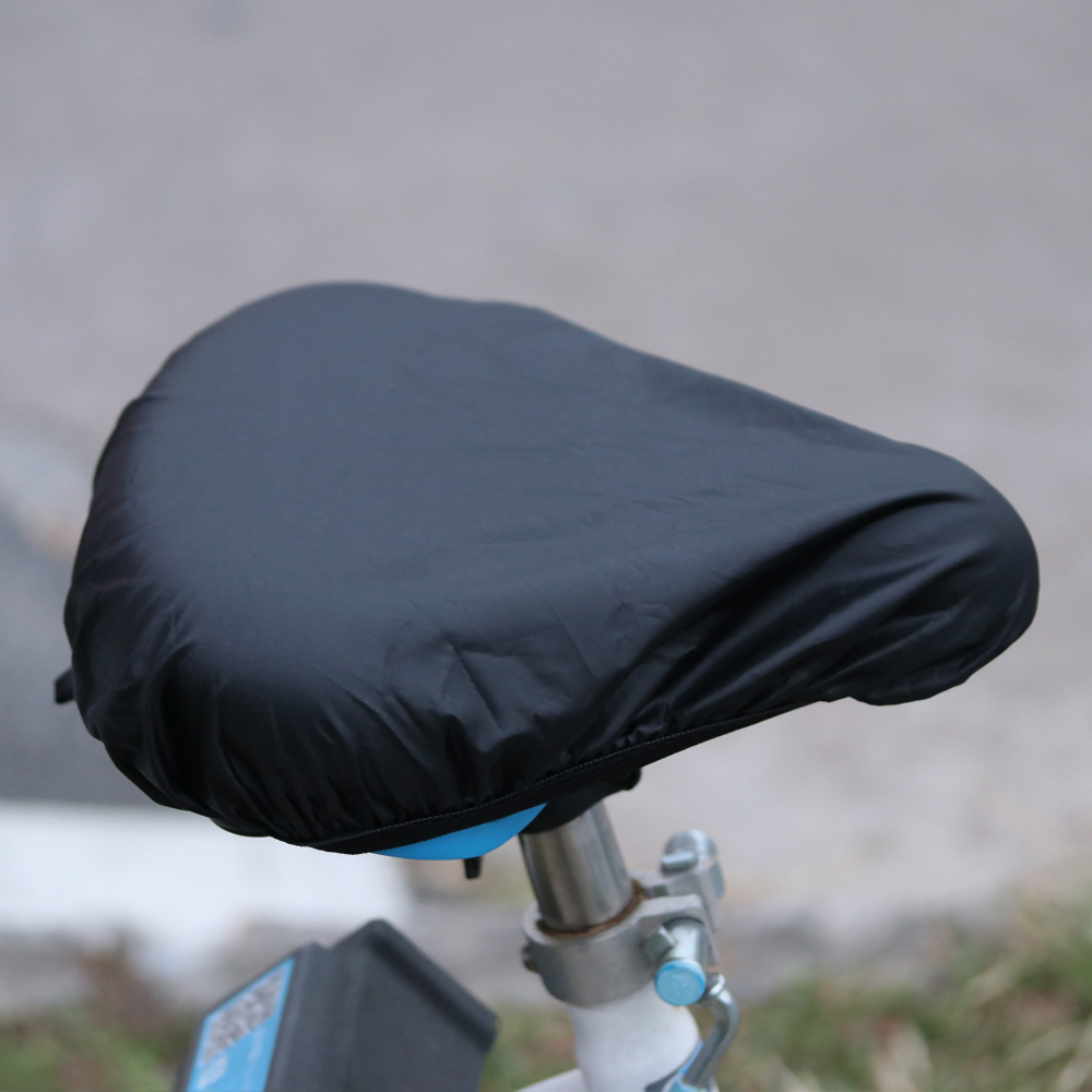 New Bicycle Saddle Water-proof Rainproof Seat Cover Rain Covers Black Covering