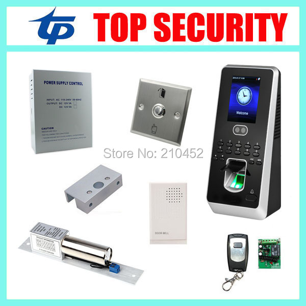 Biometric face and fingerprint access controller system TCP/IP limux system facial door access control system with fingerprint tcp ip biometric face recognition door access control system with fingerprint reader and back up battery door access controller