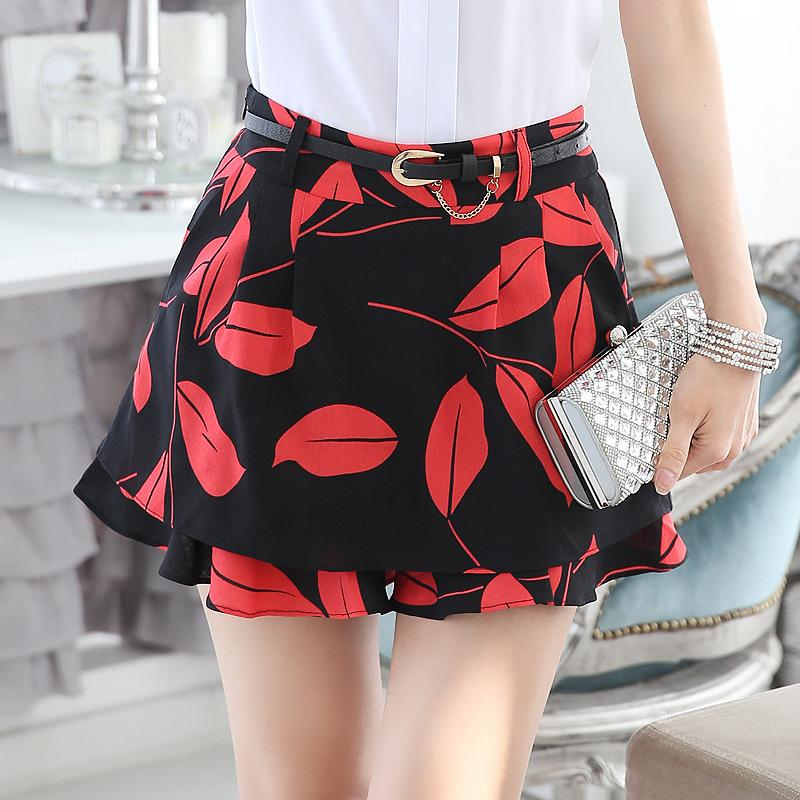 So Trendy Store Sexy Short Pants 2017 High Waisted Floral Shorts For Women Flower Shorts Women's Nightclub Sexy Sommer Shorts Women