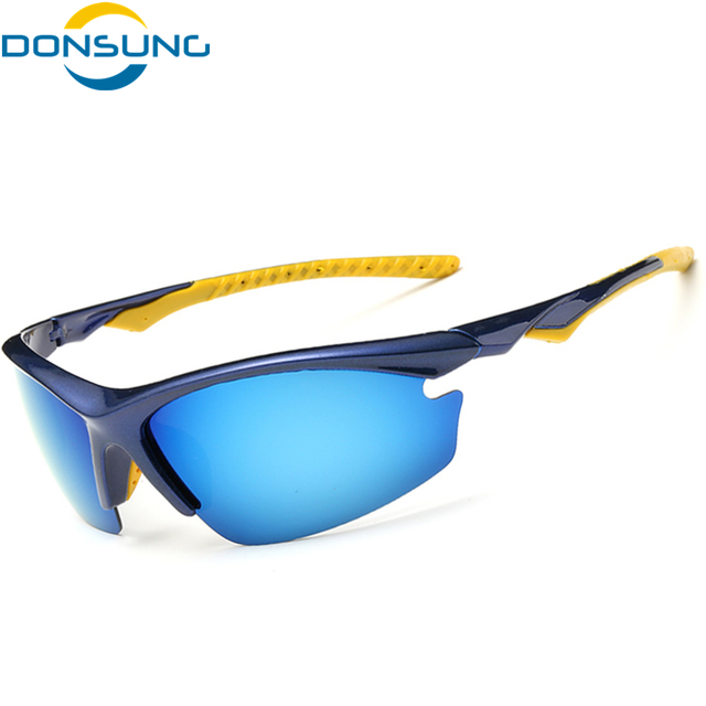 2d3a1826cc255 DONSUNG Polarized Ciclismo Óculos UV400 Proteger Bicicleta Esporte de  Corrida de Bicicleta Ciclismo Óculos Óculos de
